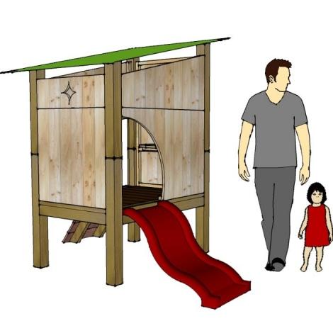 Maisonnette CLARA - modèle d'expo